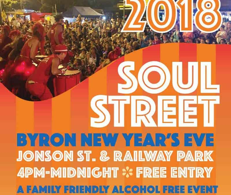 Get Your Groove On @ Soul Street 2018 NYE Party, Byron Bay
